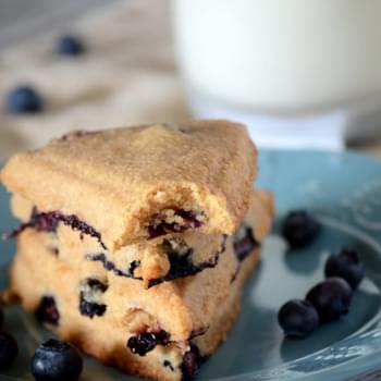 Healthy Blueberry Scones