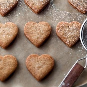 Linzer Heart Cookie