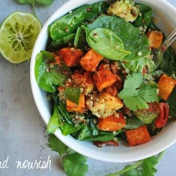 Superfood Spinach Salad