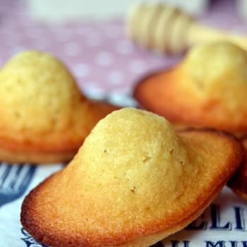 Orange Flower Water Madeleines