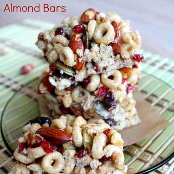Gooseberry and Almond Bars with Cheerios +Ancient Grains