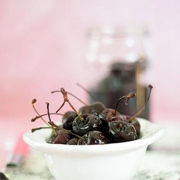 Homemade Maraschino Cherries (Alcohol Free)