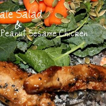 Maple Peanut Sesame Chicken