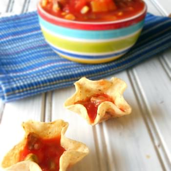Mexican Mango Salsa in Two Minutes