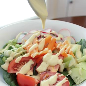 Creamy Yogurt Based Honey Mustard Dressing