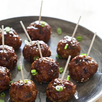 Korean Style Cocktail Meatballs
