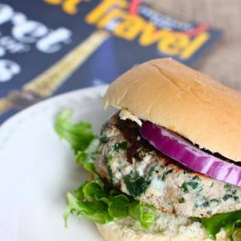 Spinach Feta Turkey Burgers