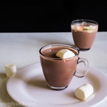 Homemade Hot Chocolate Milk