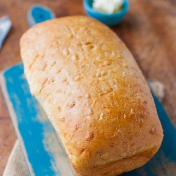 Soft and Chewy Coconut Milk Bread