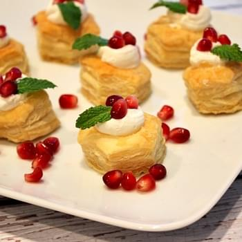 Holiday Cheesecake Bites