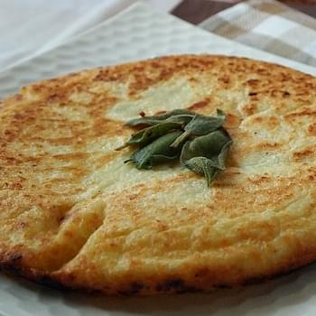 Jumbo Potato Pancake with Sage