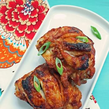 """Cheater's"" Tandoori Style Chicken Thighs (Low carb)"