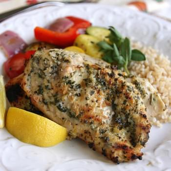 Lemon-Garlic Herb Rubbed Chicken