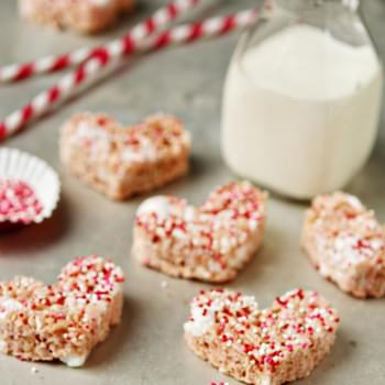 Strawberry Rice Krispie Treats