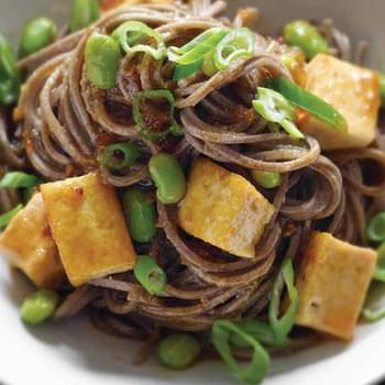 Stir-Fried Tofu with Soba Noodles