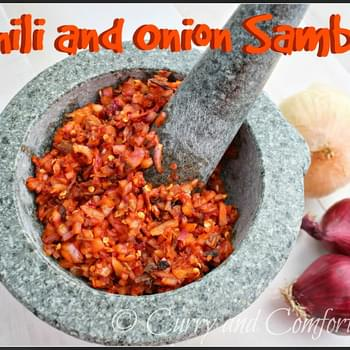 Sri Lankan Lunu Miris (Chili and Onion Sambol)