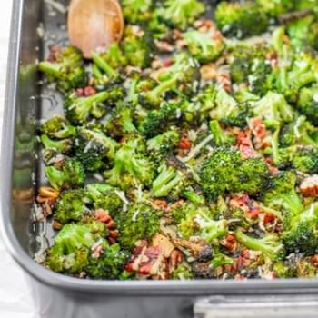 The Ultimate Parmesan Roasted Broccoli