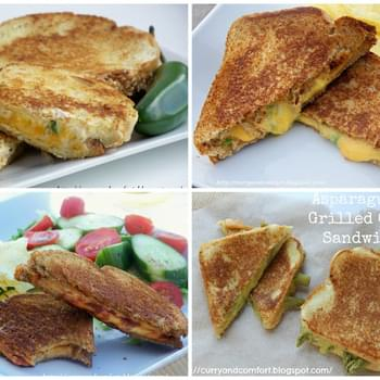 Happy Grilled Cheese Month, introducing the Asparagus Grilled Cheese