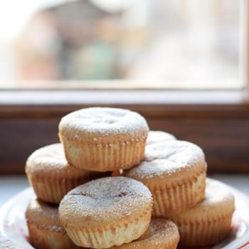Almond And Orange Tiny Cakes