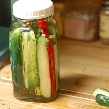 Asian-Inspired Quick Pickles