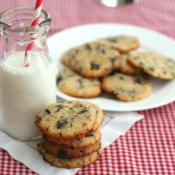 Coconut Chocolate Chip Cookies – Low Carb and Gluten-Free