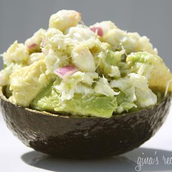 Avocado and Crab Salad