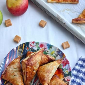 Easy Caramel Apple Turnovers