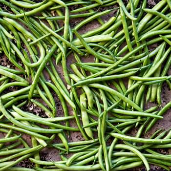 Garlic & Orange Roasted Green Beans