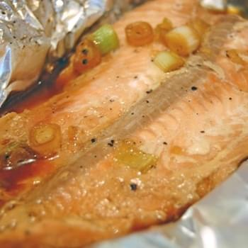 Asian Salmon on the Grill