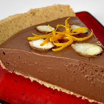 Chocolate a l'Orange Mousse Pie