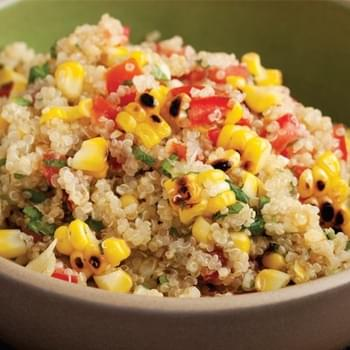 Grilled Corn and Quinoa Salad