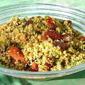 Quinoa and Lentil Salad