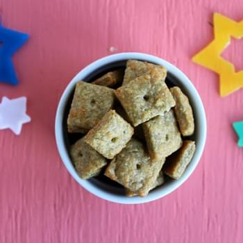 Whole Wheat Mozzarella and Chive Cheez-its