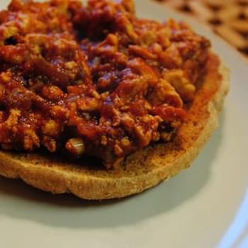 Tofu Sloppy Joes