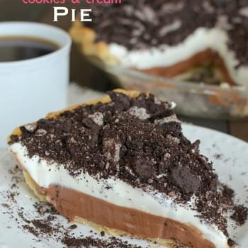 Nutella Cookies and Cream Pie