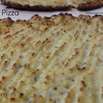 Cauliflower Pizza Crust (Paleo, GAPS Nut, Dairy & Grain-free)