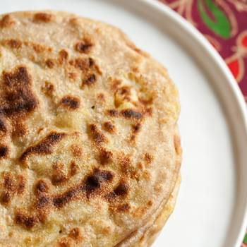 Aloo Parathas (Indian Potato Flatbread)