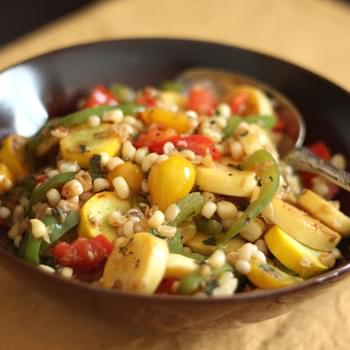 Corn, Tomato and Zucchini Skillet