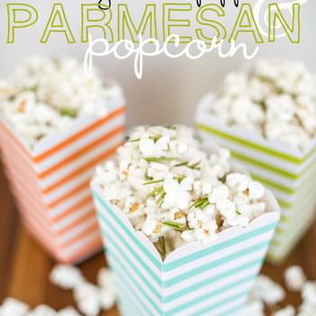 Rosemary, Black Pepper, & Parmesan Popcorn