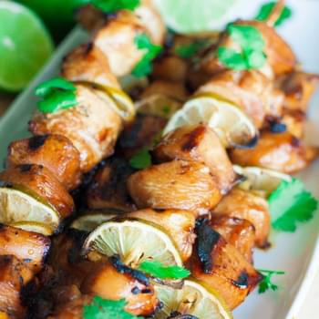 Grilled Key Lime Chicken