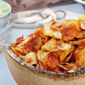 Smoky Paprika BBQ Potato Chips