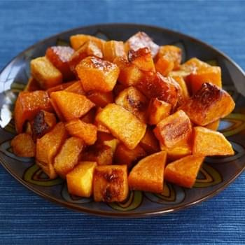 Maple Cinnamon Roasted Butternut Squash