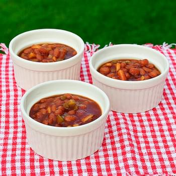 Easy Apple Baked Beans