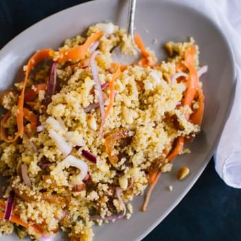 Orange, Apricot and Carrot Couscous