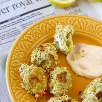 Better than Fried Artichokes with Quick Aioli Dipping Sauce
