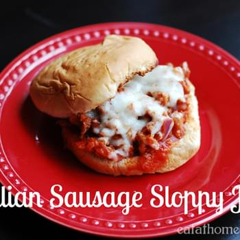 Italian Sausage Sloppy Joes – 15 Minute Meal