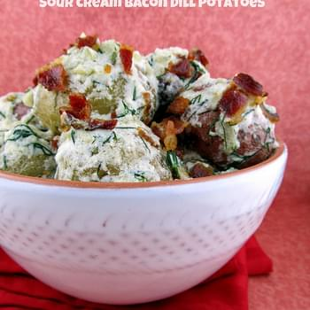 Bacon, Sour Cream and Dill Potatoes