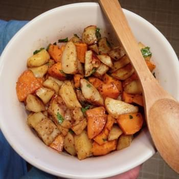 Chipotle Roasted Sweet Potatoes