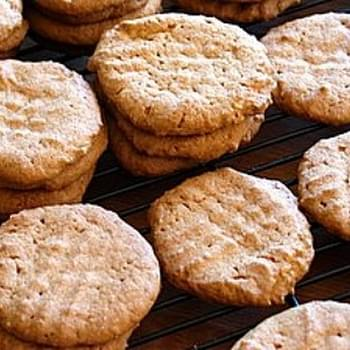Great Grandma's Peanut Butter Cookies
