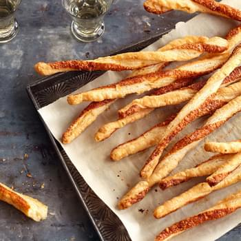Parmesan Twists